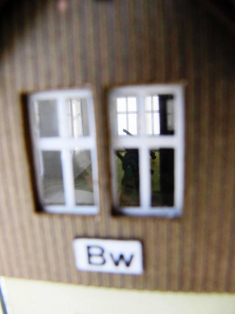 (c) W. Fehse - Blick in den Stellwerkshebelraum