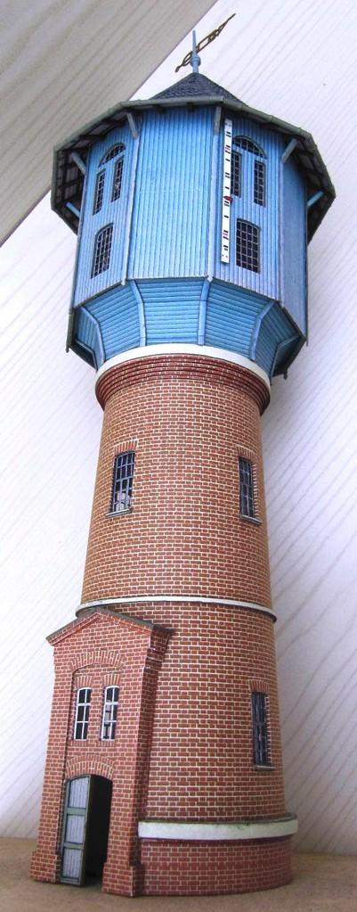 (c) W. Fehse - Turmschaft mit Wasserbehälter 1:87 (H0)