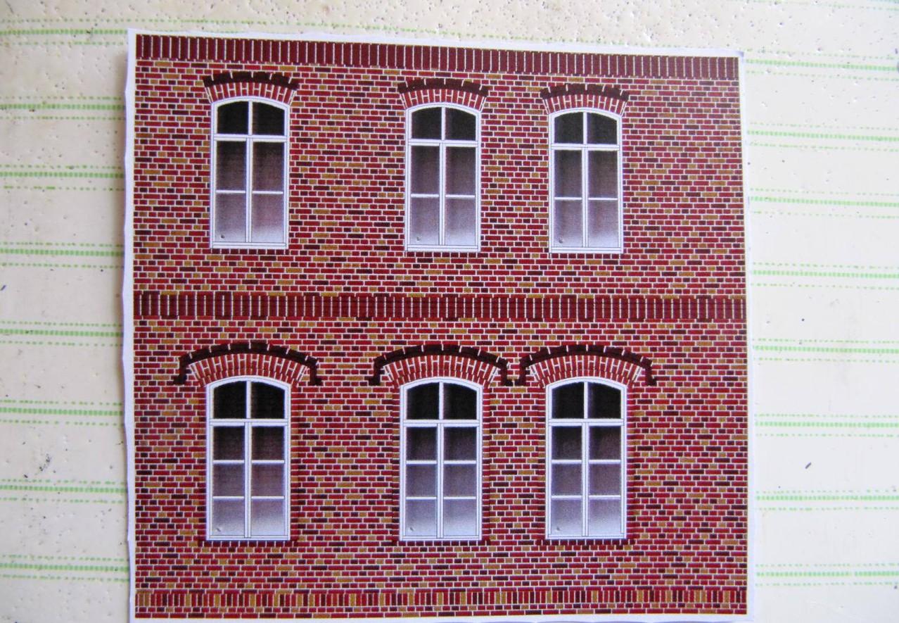 Tipp: Plastische Und Blickdichte Karton Fassaden   MaKaMo Modellbogen  Walfried Fehse