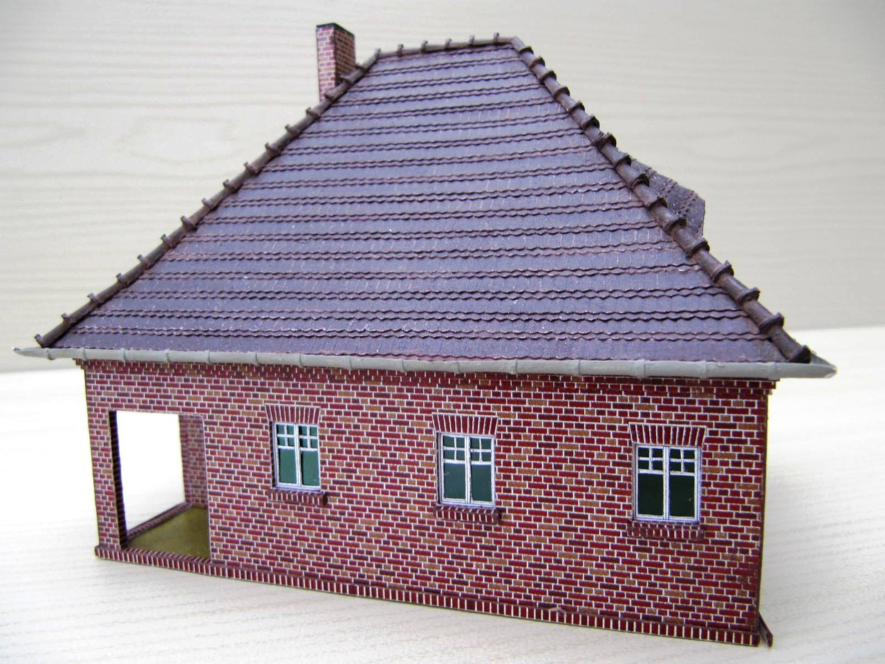 (c) W. Fehse - Biberschwanz-Dach 1:87 (H0)