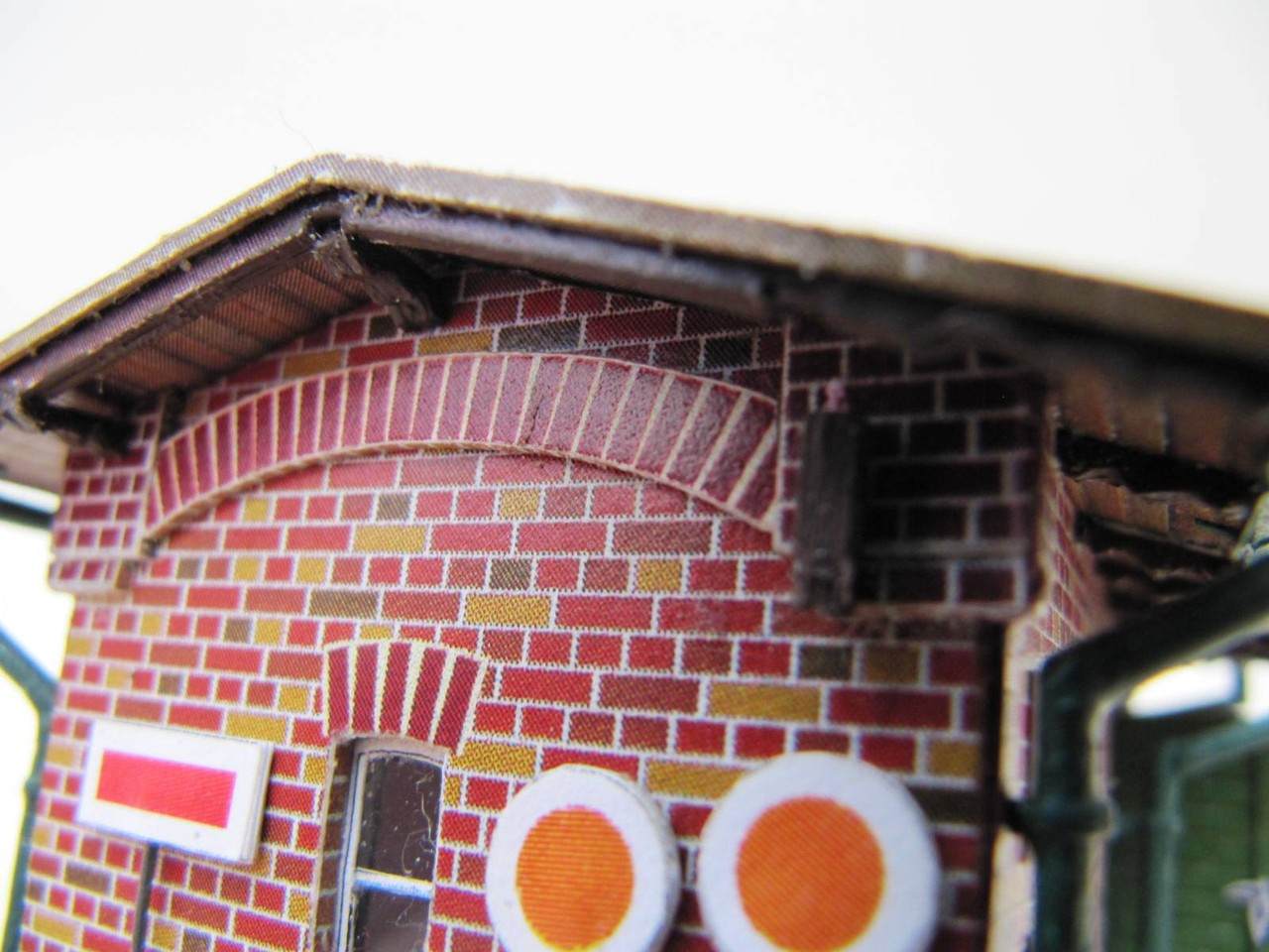 (c) W.Fehse - Ziegelbogen und Fenster 1:87