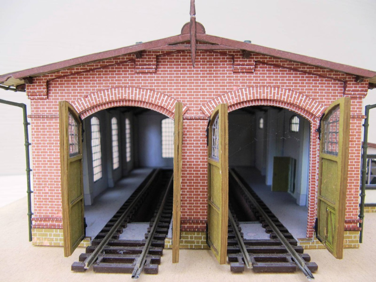 (c) W. Fehse - Blick ins Schuppeninnere 1:87 (H0)