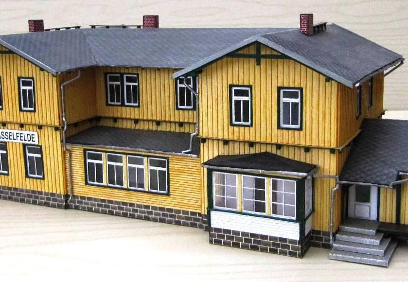 Bahnhof Hasselfelde - Empfangsgebäude