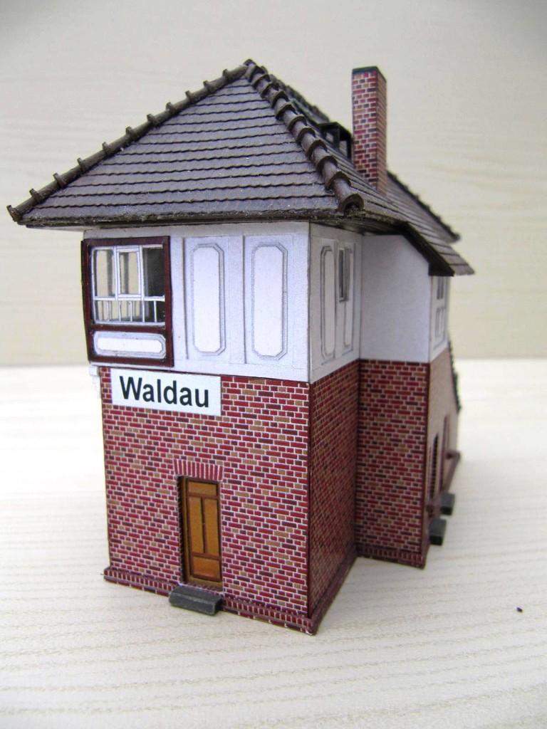 (c) W. Fehse - Anbau Nordseite und verlängertes Dach 1:87 (H0)