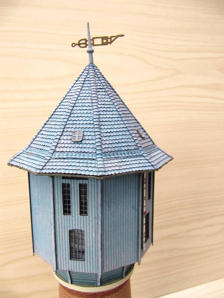 (c) W. Fehse -  zehneckige Dachkonstruktion 1:87 (H0)