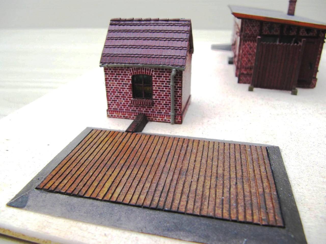 (c) W. Fehse - Wiegenhaus mit Waagenfläche 1:87 (H0)