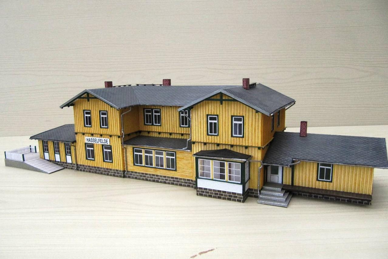 (c) W. Fehse - Modell Bahnhof Hasselfelde 1:87 (H0)