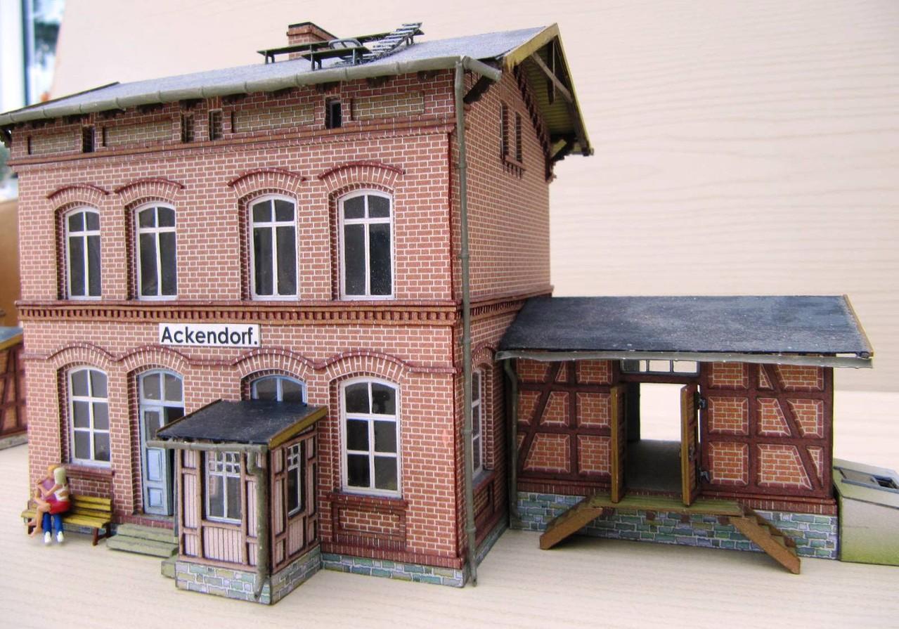 (c) W. Fehse - Nebengebäude 1:87 (H0)