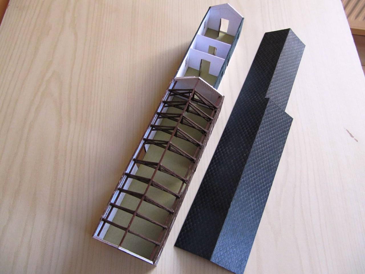 (c) W. Fehse - Dach von oben 1:87 (H0)