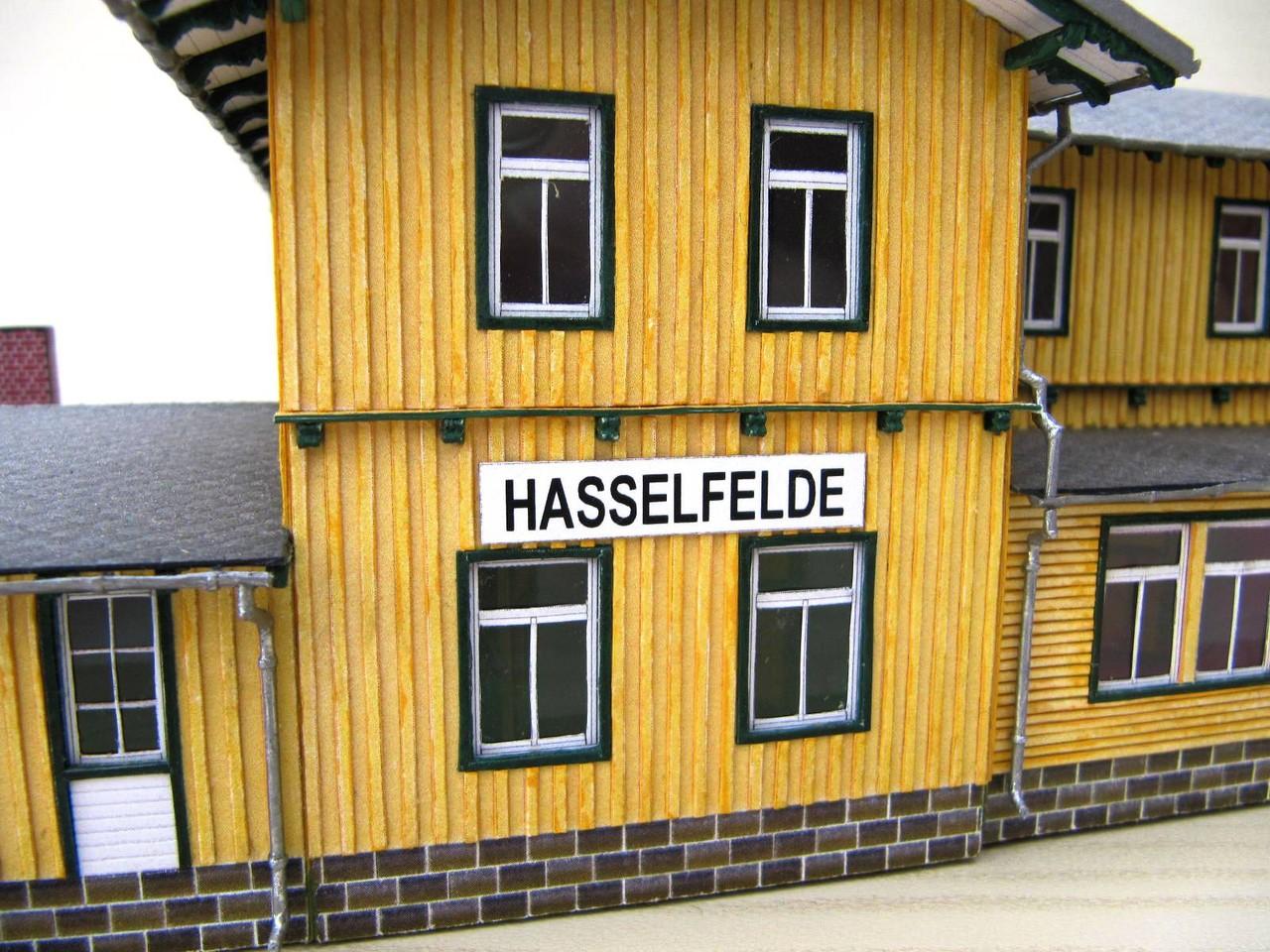 (c) W. Fehse - Original-Bahnhofsschild 1:87 (H0)