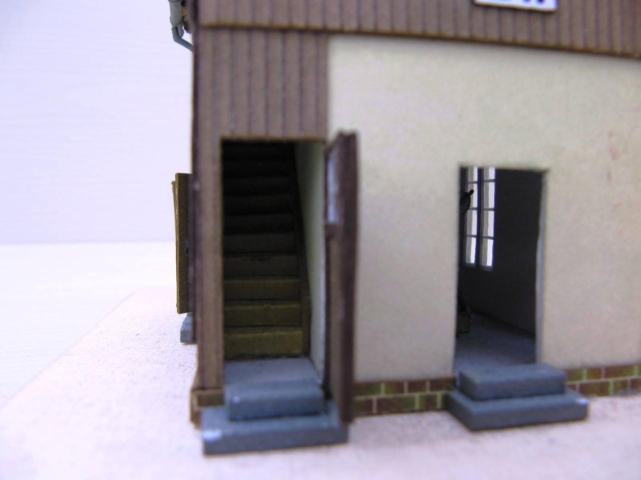 (c) W. Fehse - Aufgang zum Obergeschoss