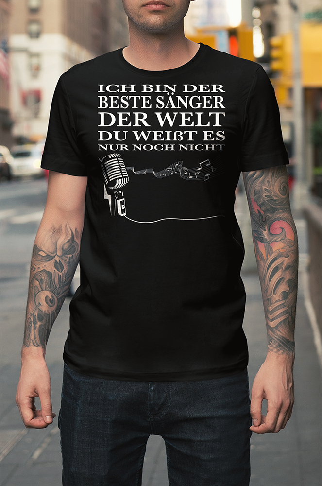 ICH BIN DER BESTE SÄNGER DER WELT DU WEIßT ES NUR NOCH NICHT G