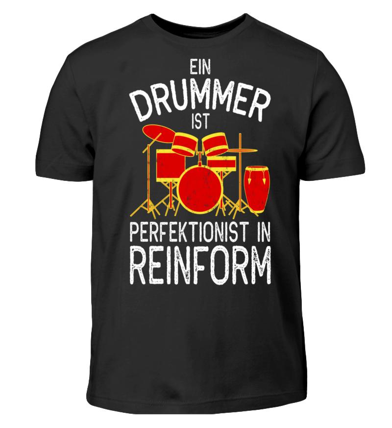 EIN DRUMMER IST PERFEKTIONIST IN REINFORM
