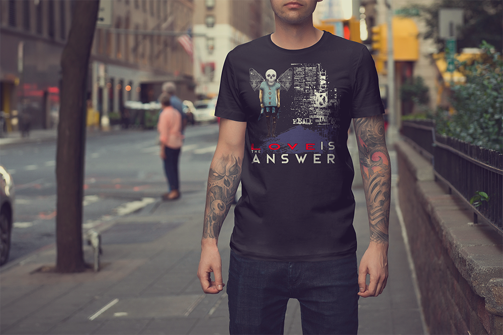 LOVE IS THE ANSWER Shirtee