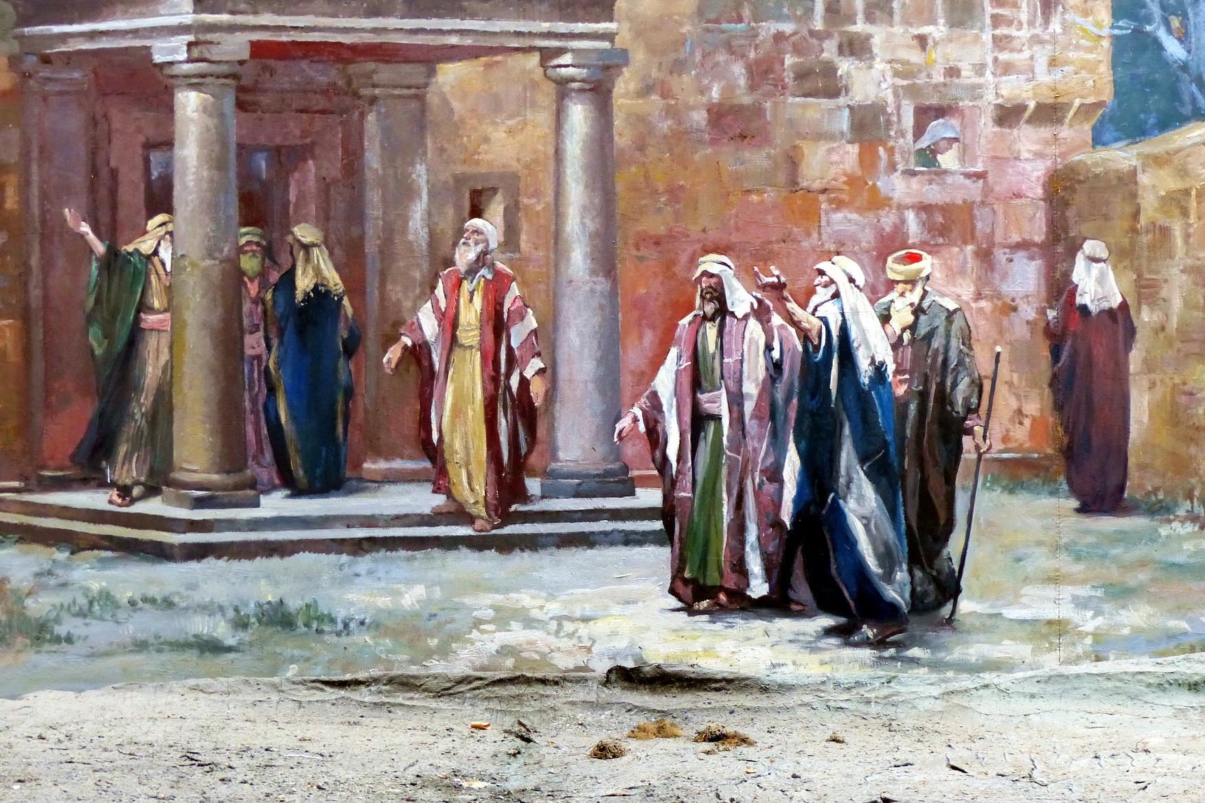 Motiv 14 - Pilgergruppe