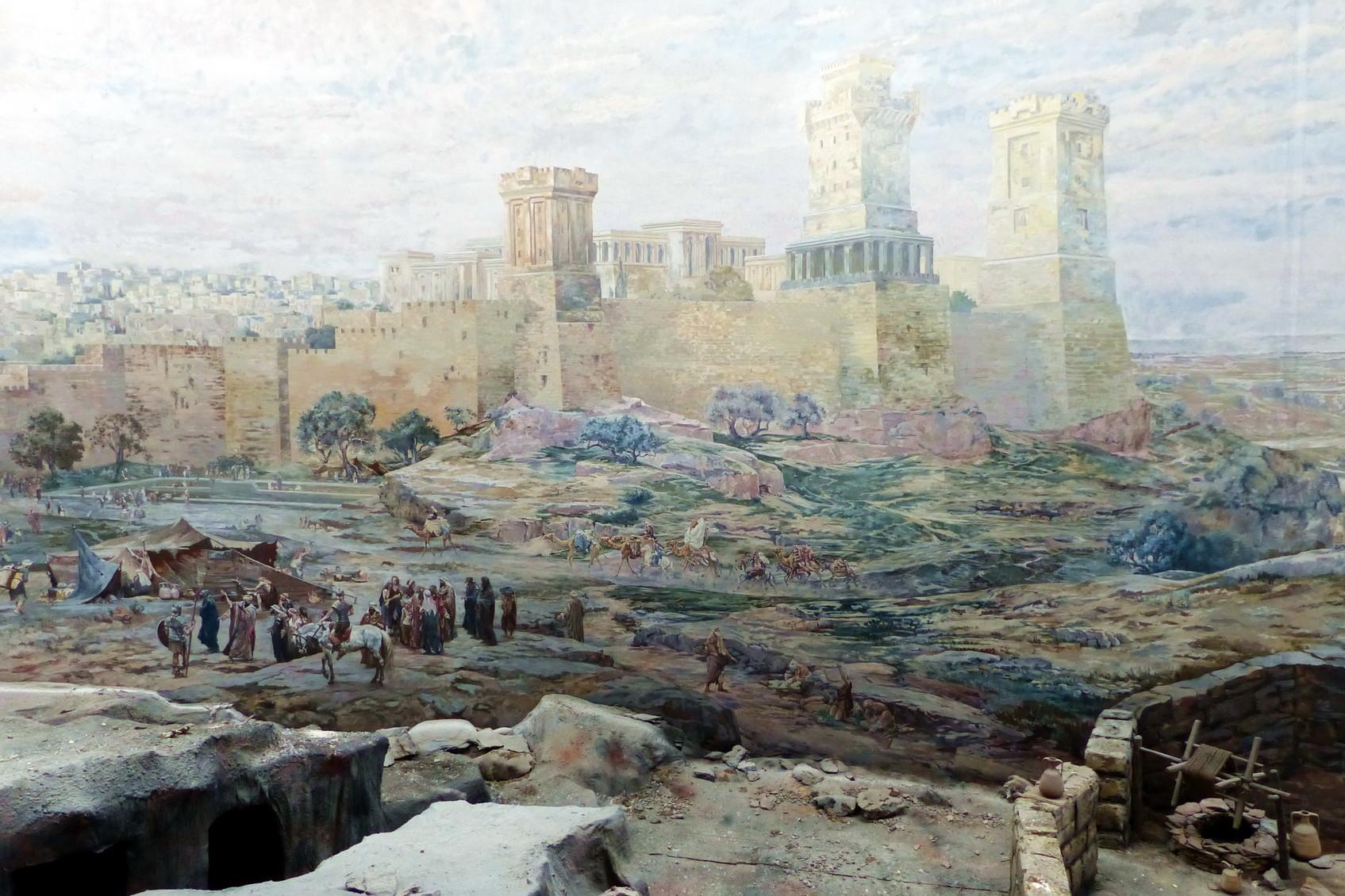 Motiv 8 - Tempelberg Zion