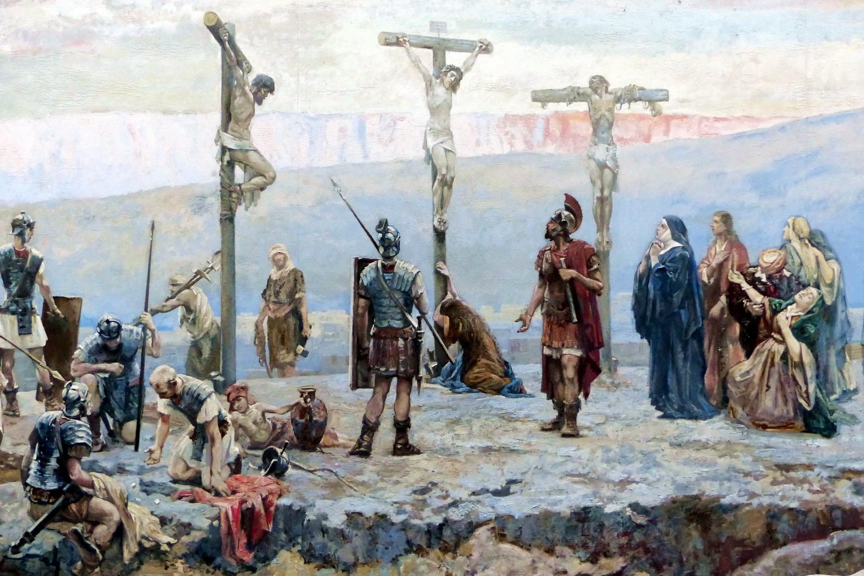 Motiv 7 - Kreuzigung auf dem Kalvarienberg