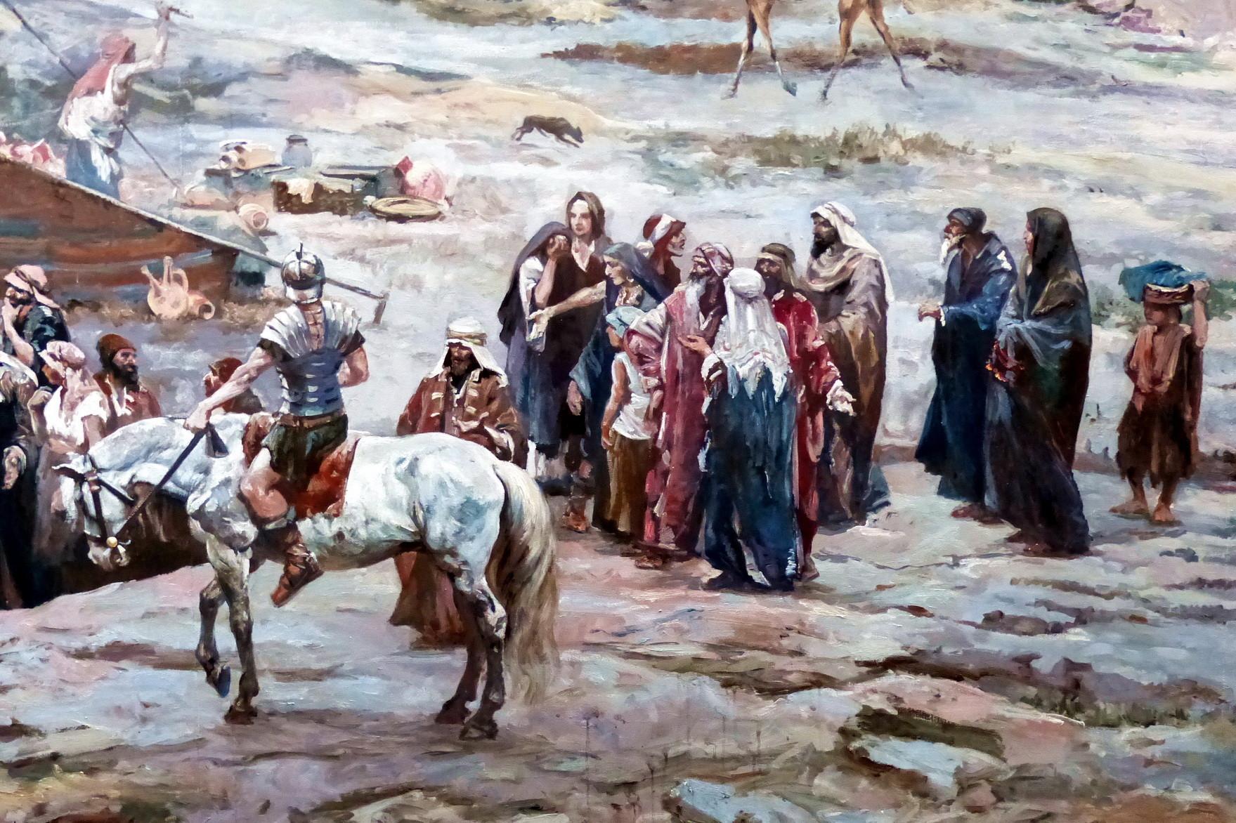 Motiv 6 - Pilgerlager