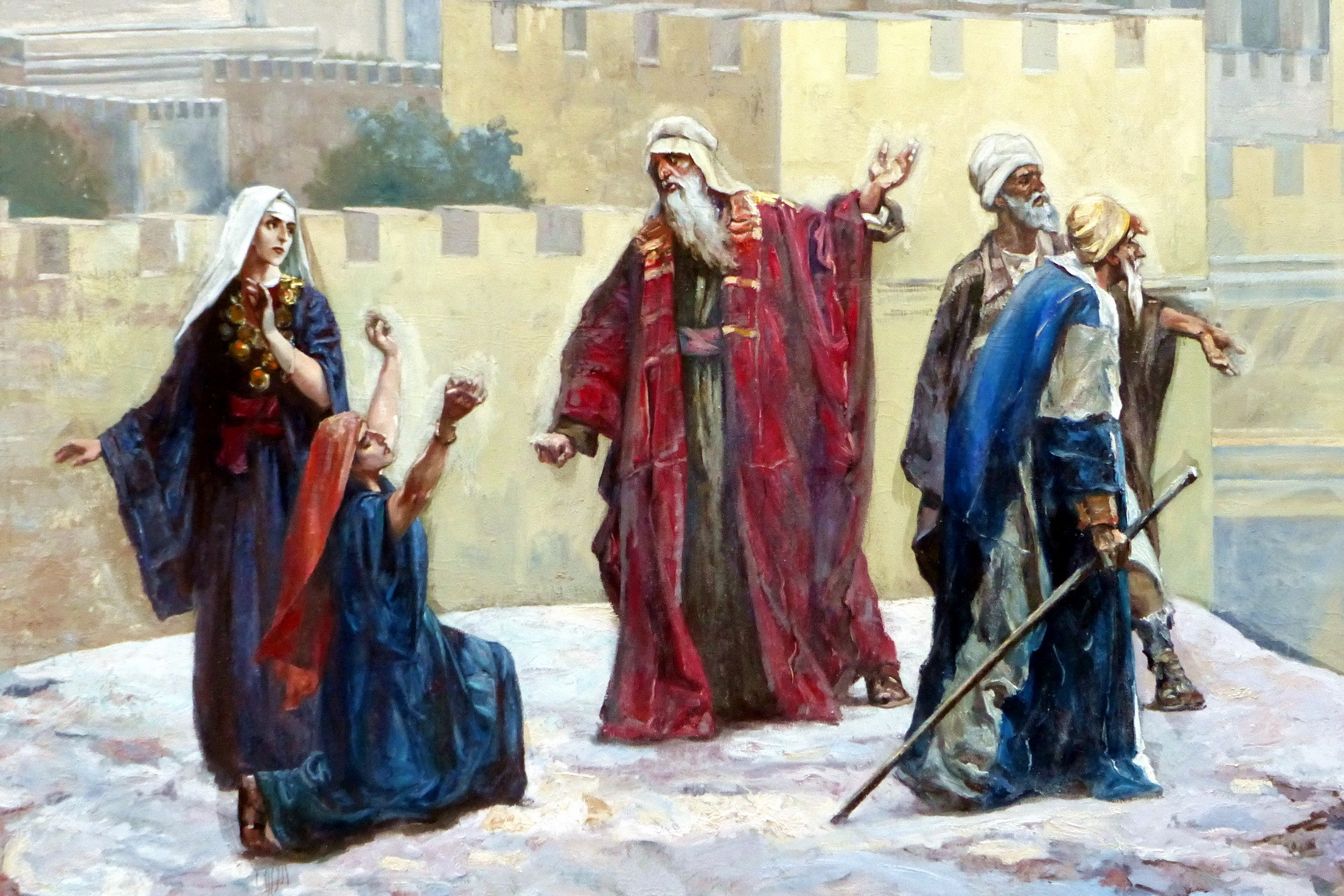 Motiv 3 - Hohepriester Kaiphas