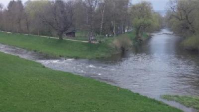 April: Donauradtour - Brigach und Breg bringen die Donau zu Weg/ Bert