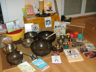 Materialien von Yoga-Lehrer Frajo