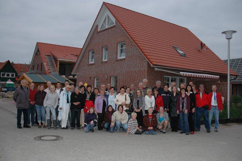 Eröffnung Haus am Deich Gruppenfoto