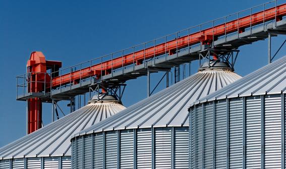 Getreidesilos - grain silos - silos à céréales