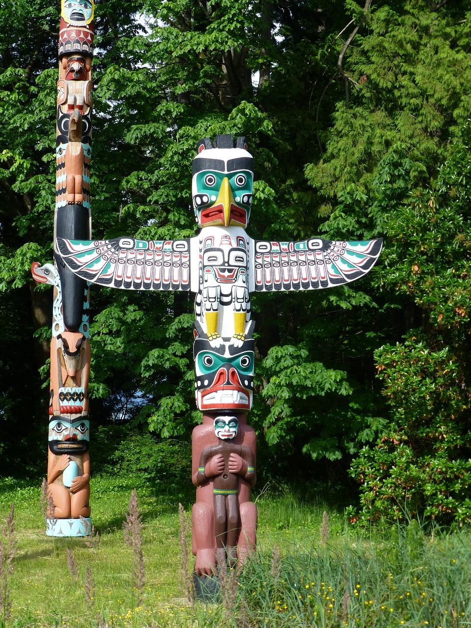 Chek Totem Pfahl