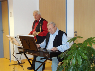 Dixie-Syncopaters auf der Palliativstation in Ilmenau