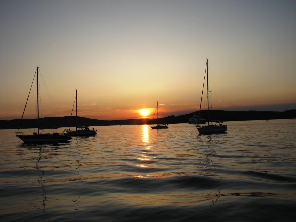 Sonnenuntergang in Muline