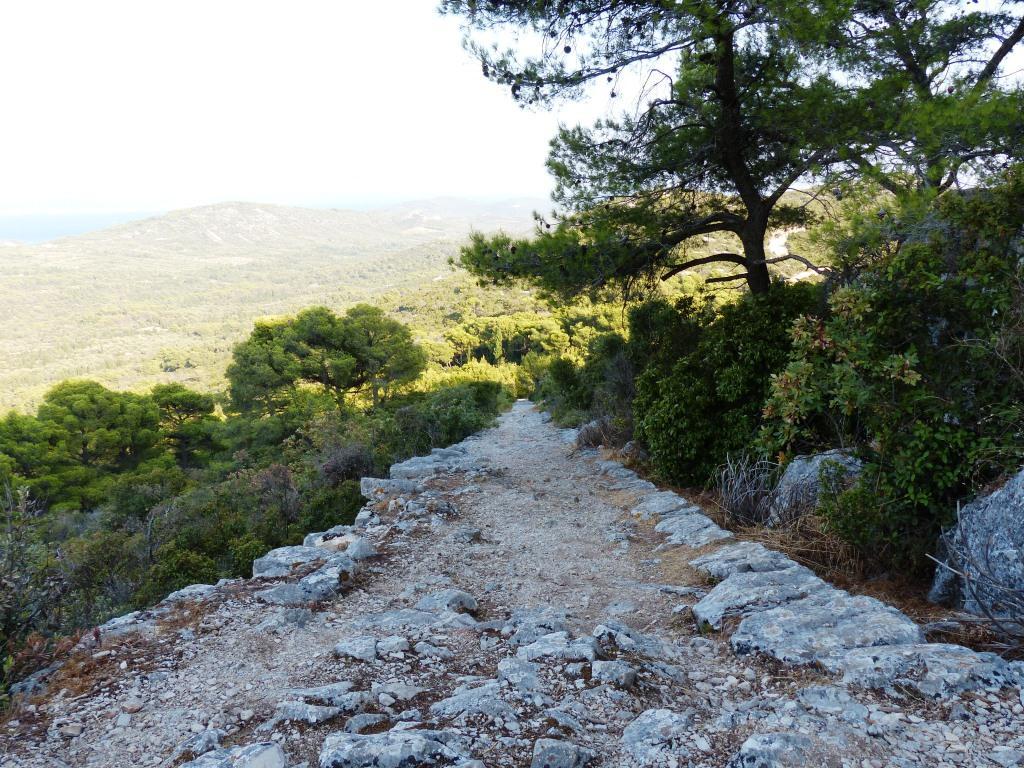 "Fußweg zum Cache ""Felice"",  Festung Sveti Mihovil."