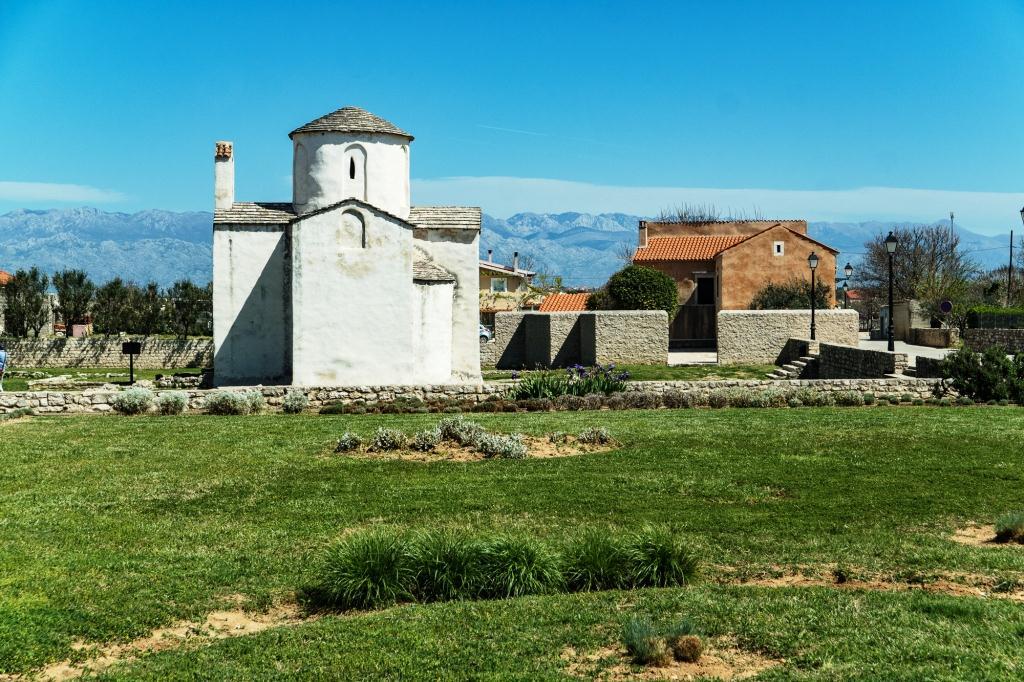 In Nin, der kleinste Dom der Welt