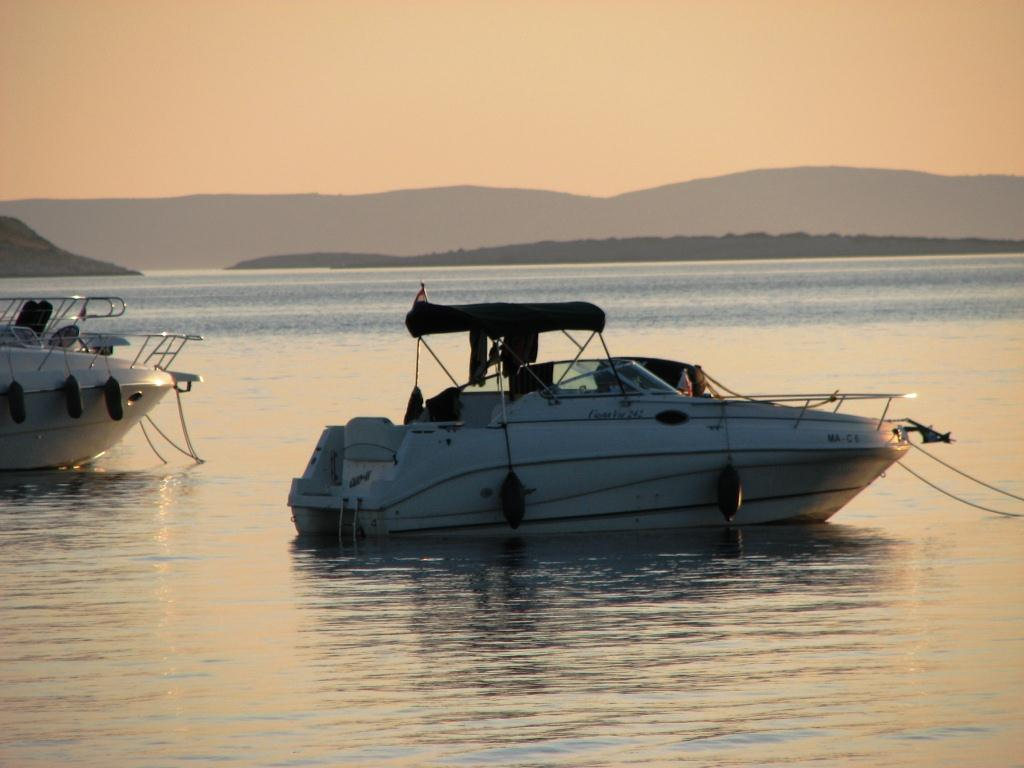 Motorboot Törn in die Kornaten