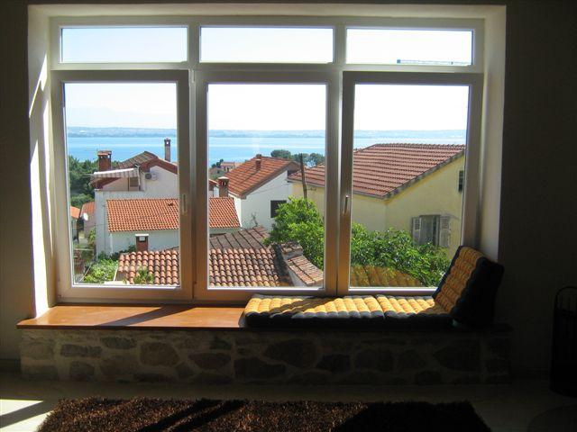 Panoramafenster im Wohnzimmer