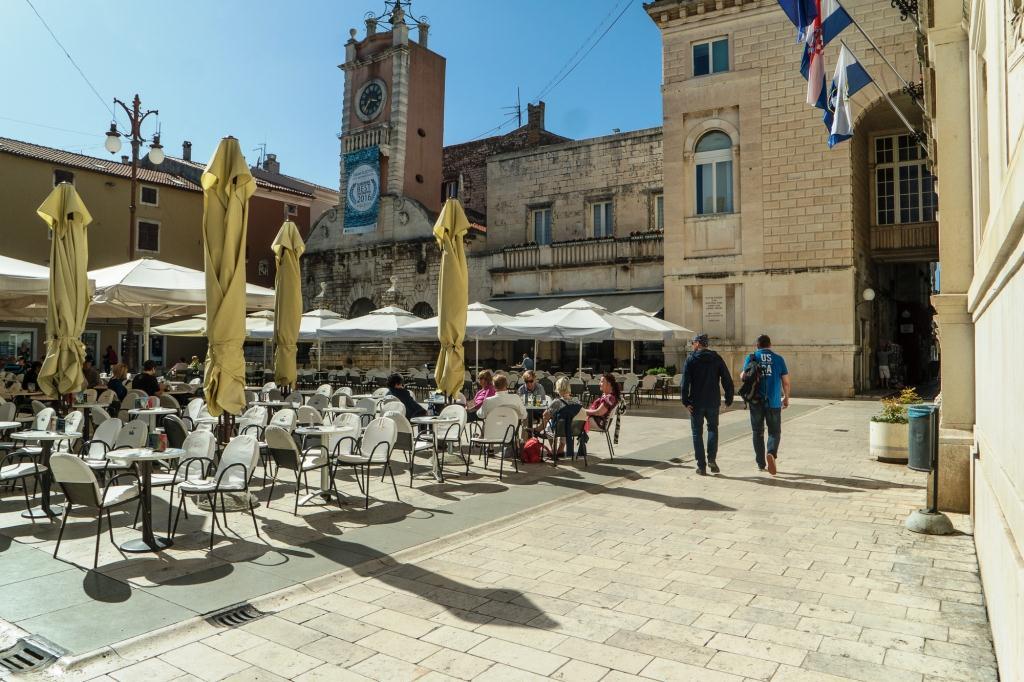 Platz in Zadar