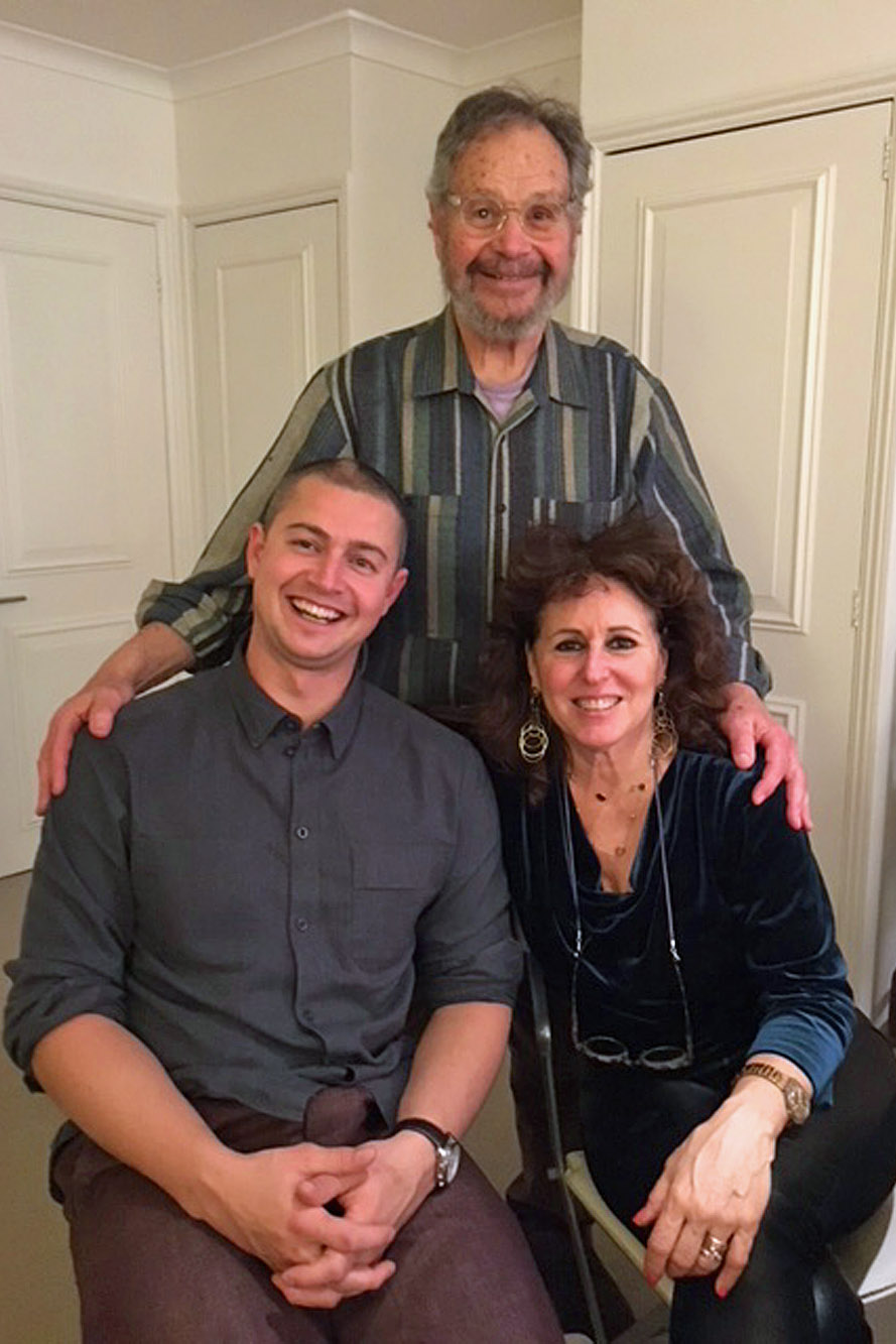 Ron Mehlman, Sol and Janice Mehlman 2017 in London