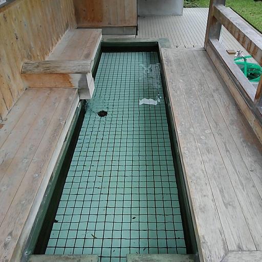 松崎町の足湯