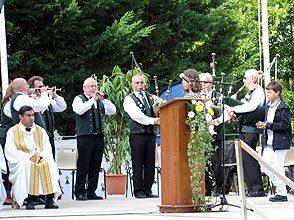 Quelques airs solennels durant la messe