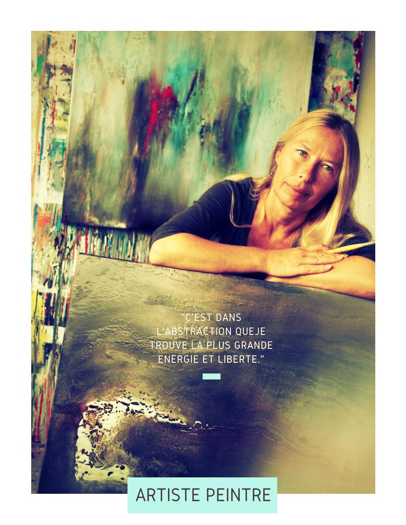 Carole Bécam - Artiste peintre - Atelier Le Pouliguen - La Baule