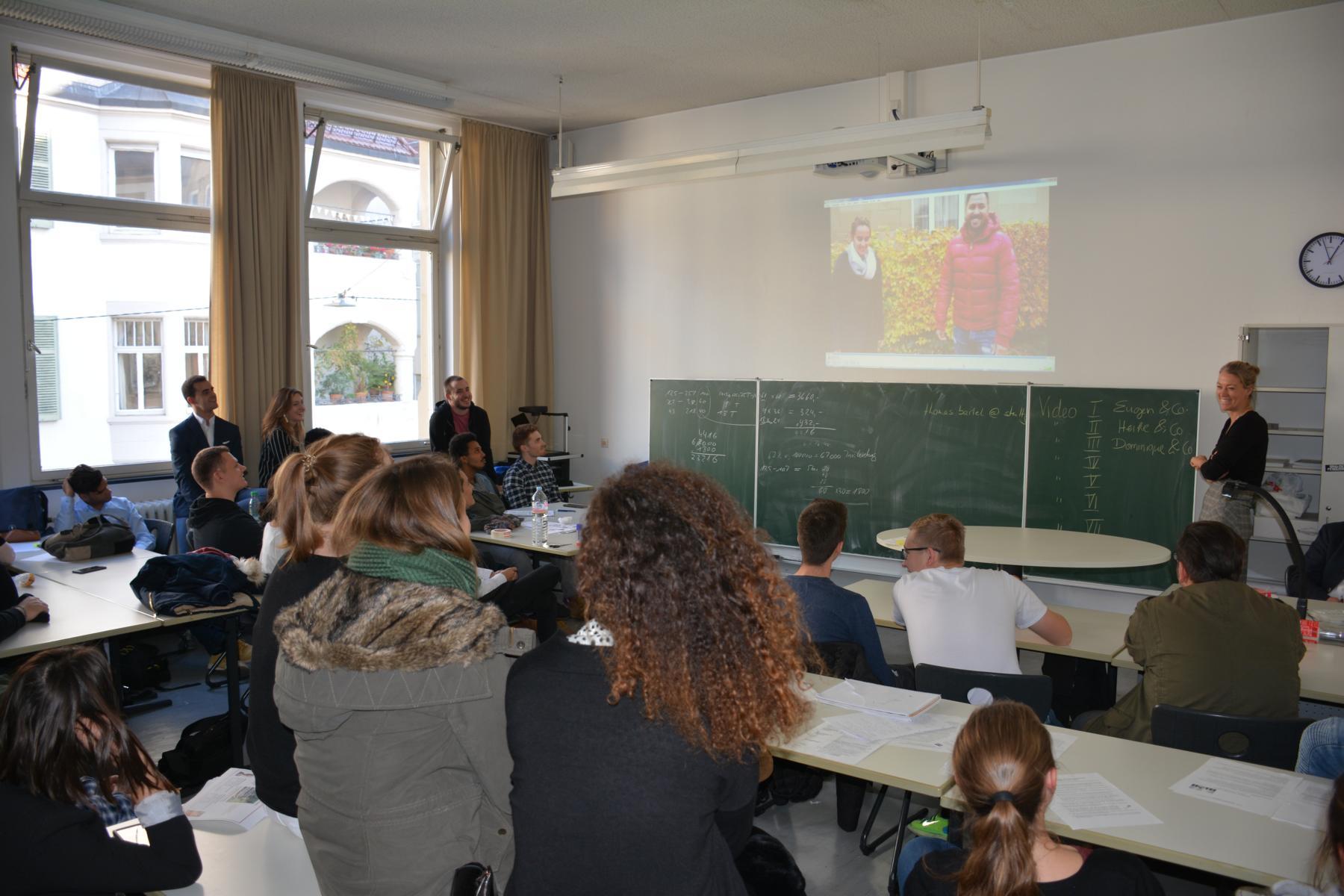 Präsentation der Explain-it-Videos