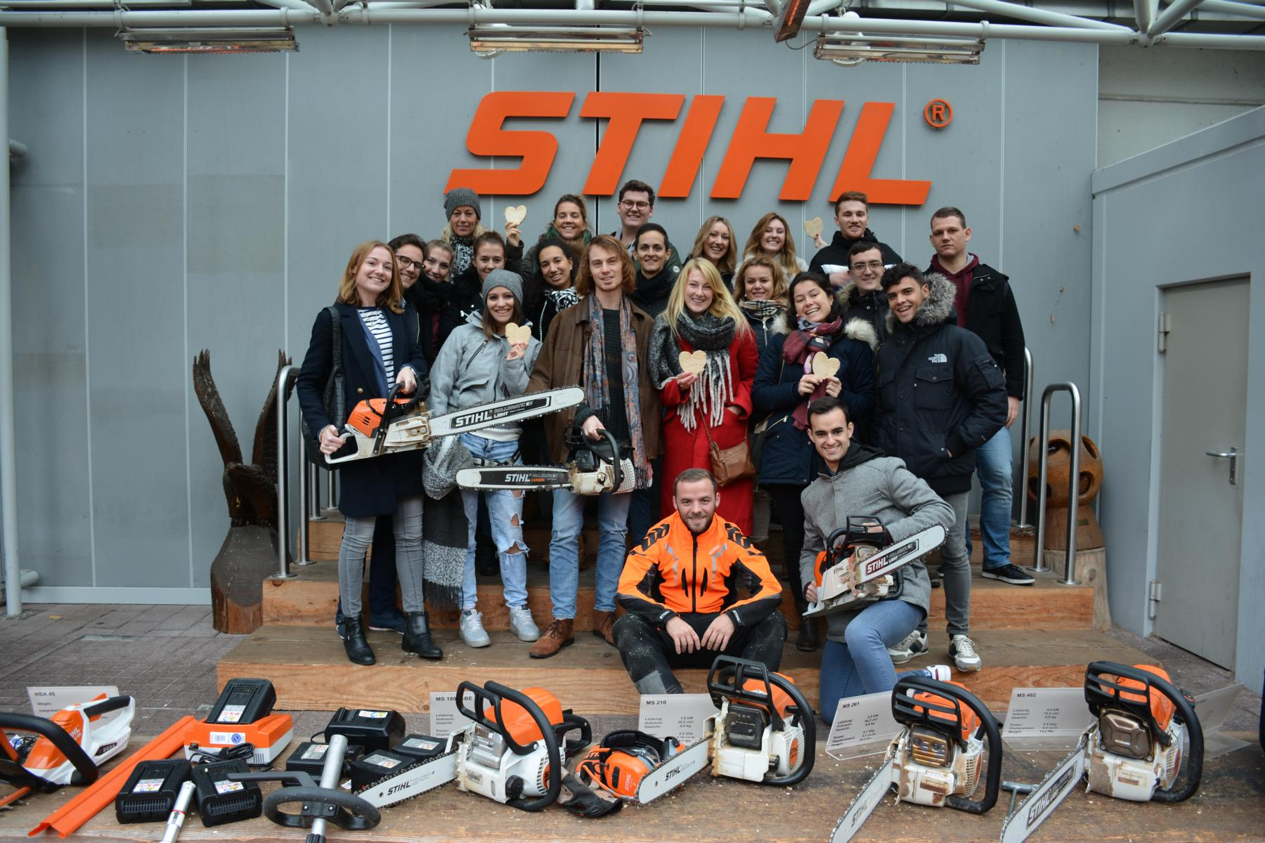 Besuch bei Andreas Stihl