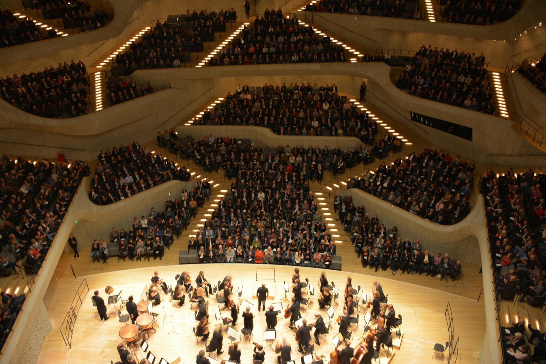 Abendprogramm: Elbphilharmonie