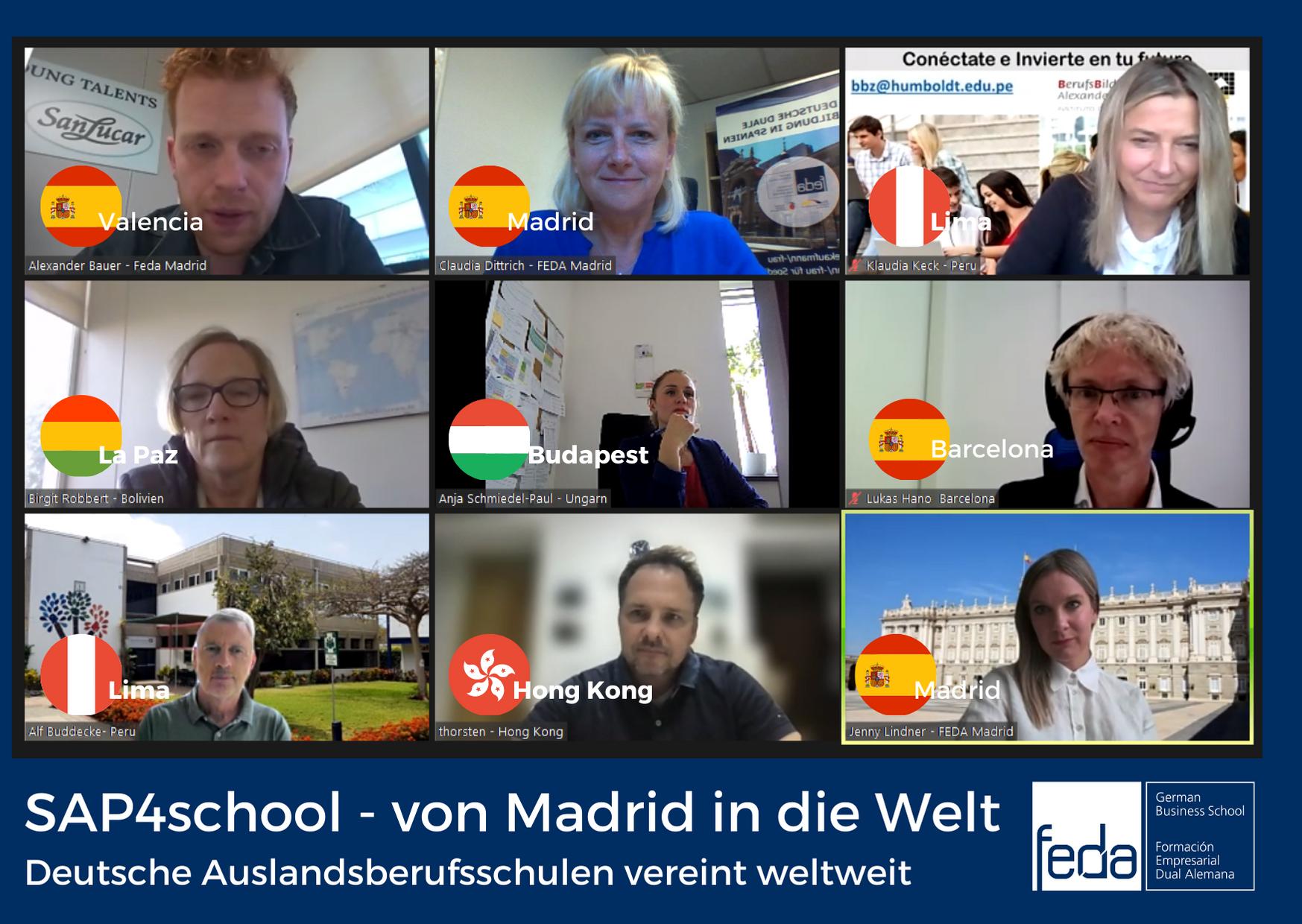 """Projekt """"SAP4school"""": Kooperation der deutschen Auslandsberufsschulen"""