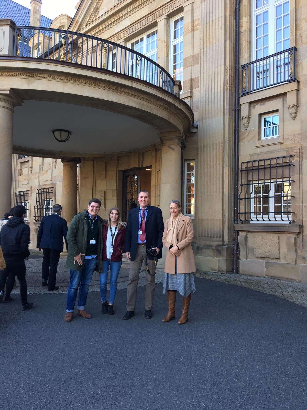 Besichtigung der Villa Reitzenstein (Staatsministerium)
