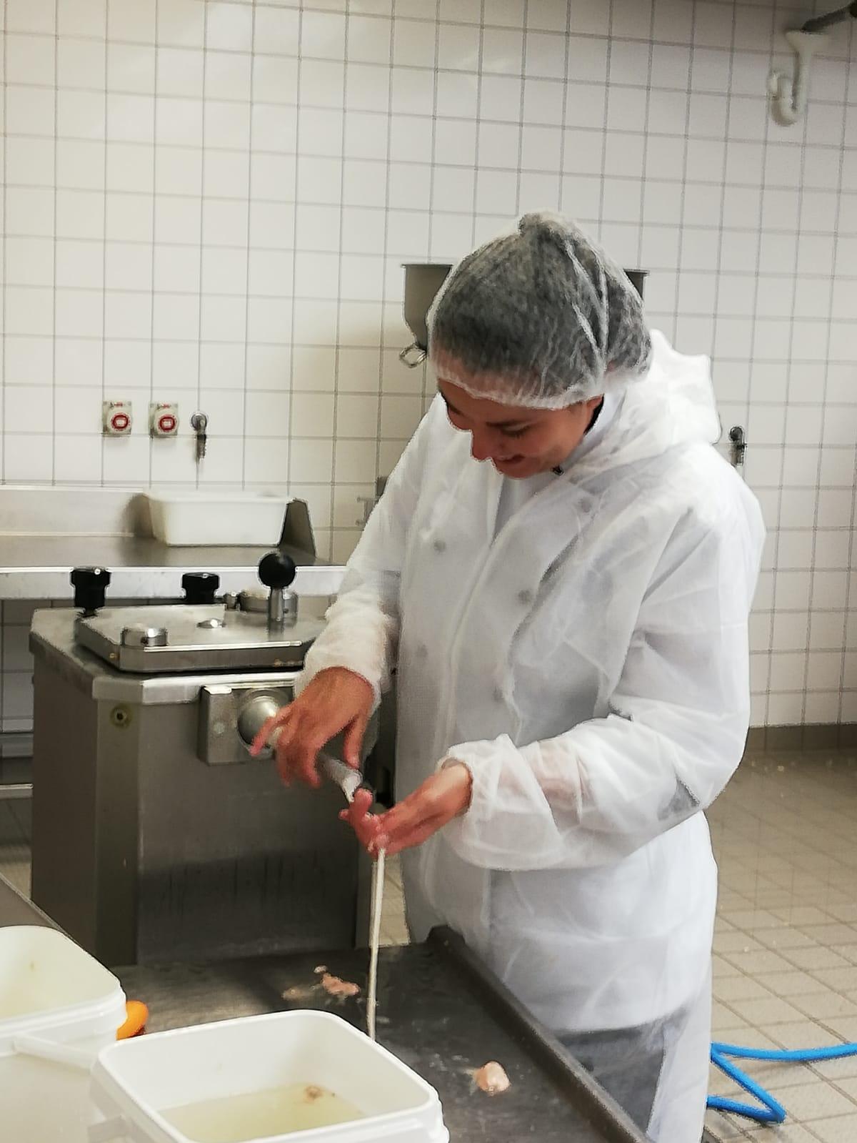 Praxiprojekt: Produktion von Weißwurst