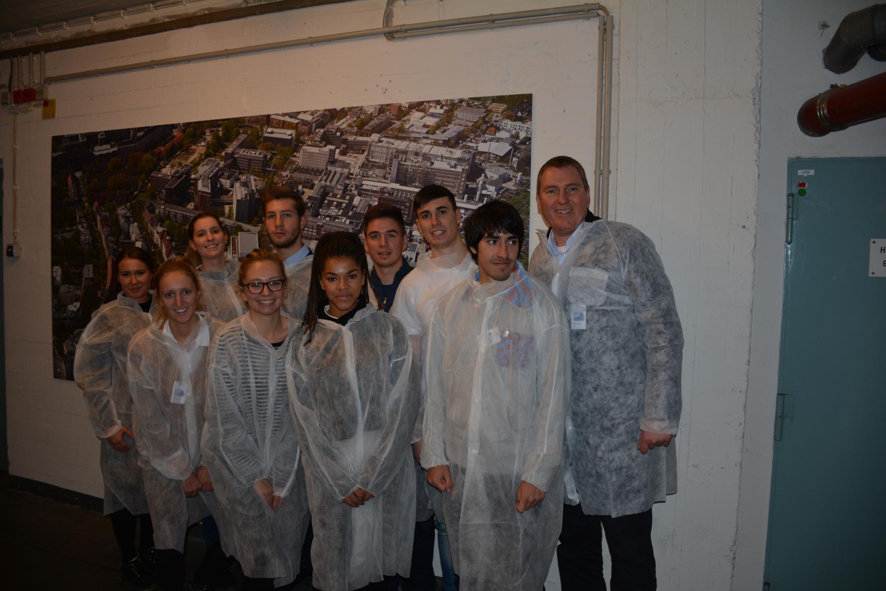 Besuch der Nivea-Produktion, Beiersdorf