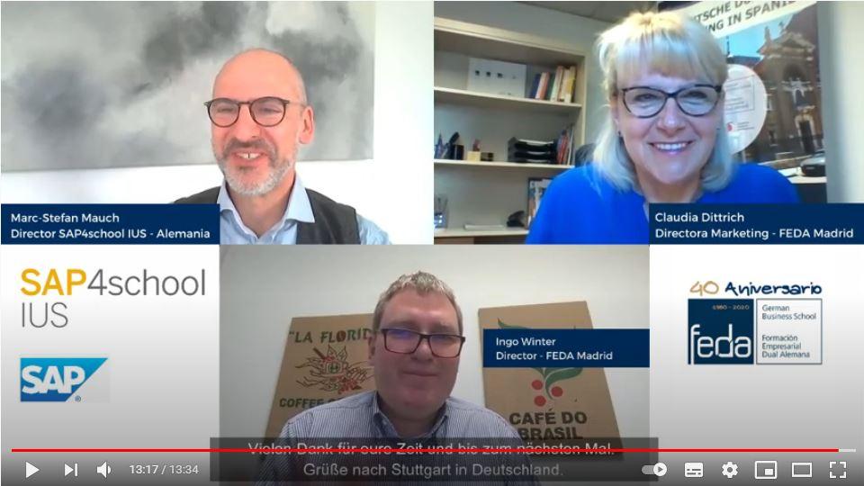 SAP in der beruflichen Bildung - Interview mit Marc-Stefan Mauch, Leiter SAP4school IUS