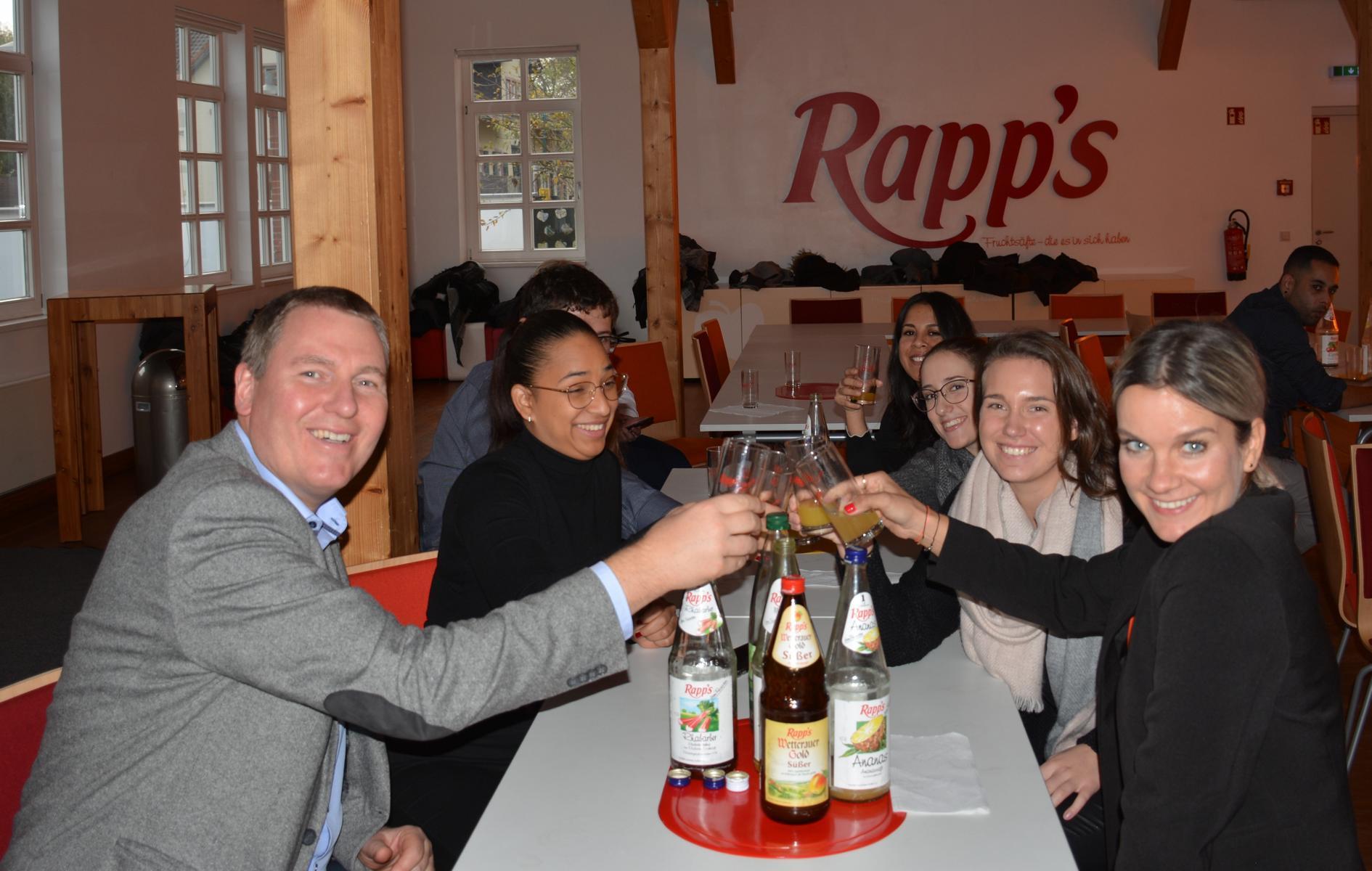 Produktionsprozesse: Fachvortrag bei Rapp's