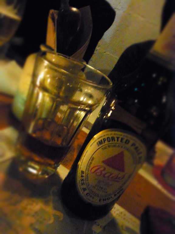 英国のエール(発酵ビール)香り広がるぅ~