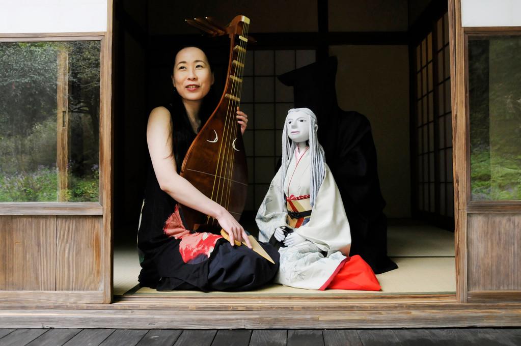 2010年4月*北鎌倉・たからの庭にて。